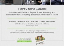 Party for a cause!